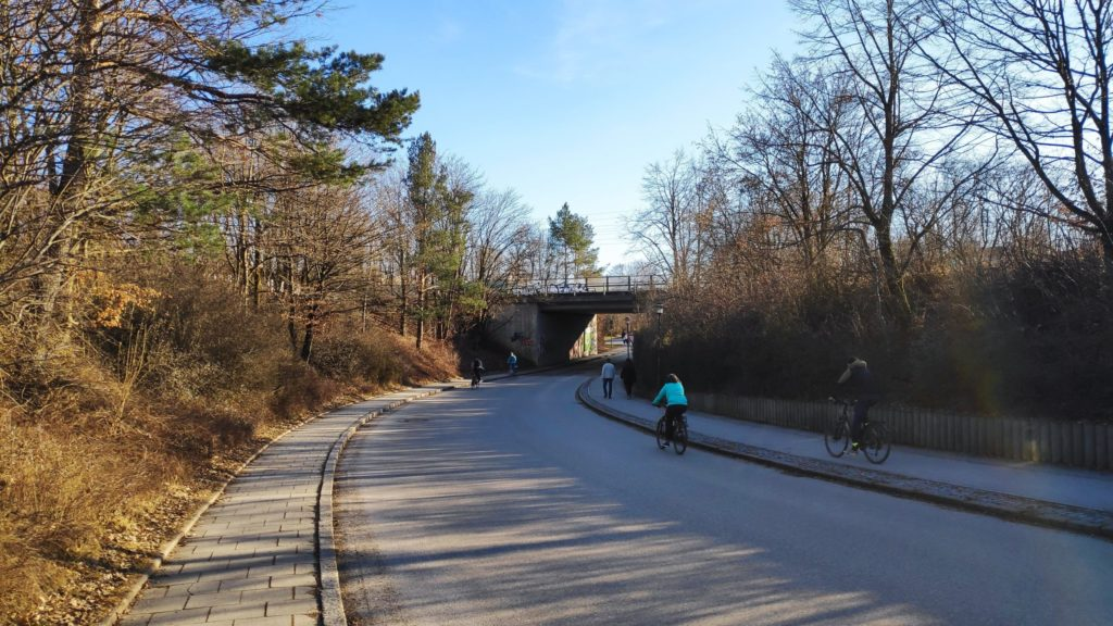 Brücke über die Keferloher Straße