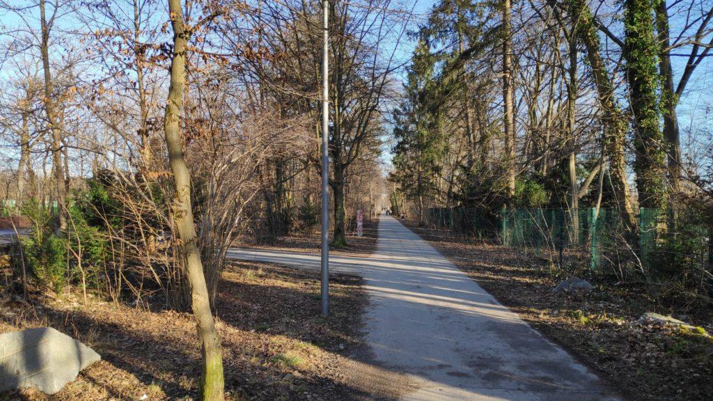 Fuß/Radweg zur Vockestraße