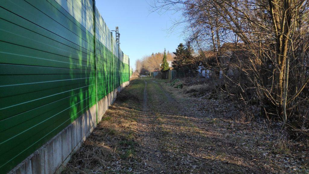 Wirtschaftsweg zwischen B471 und Grasbrunn