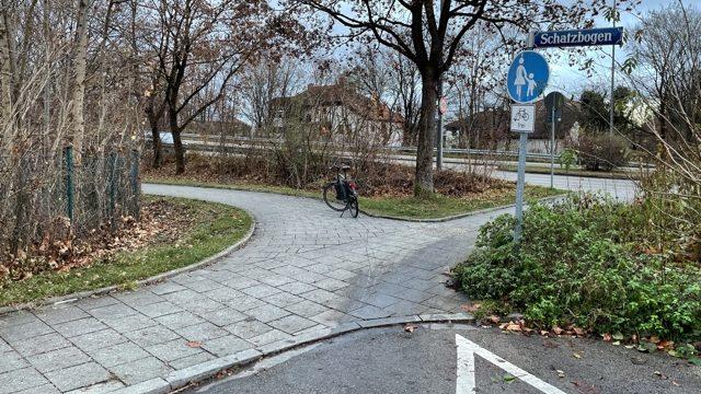 Ende der Hansjakobstraße